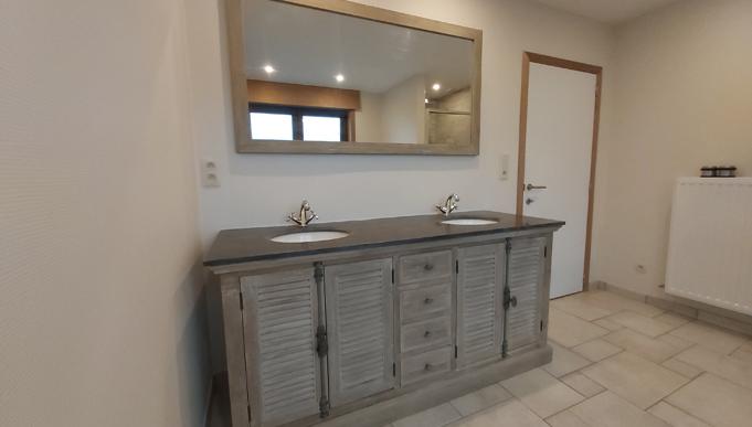 Création de salle de bains à Tournai