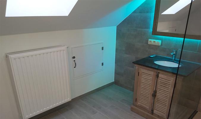 Rénovation de salle de bain à Tournai